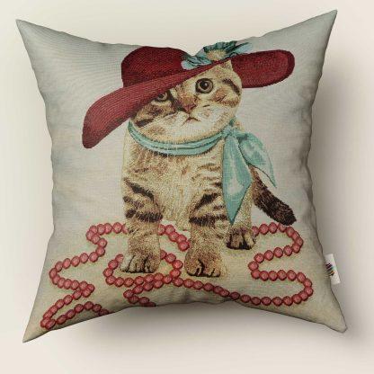 Față de pernă decorativă pisicuță classy