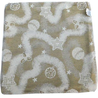 Fermoar fete de perna decorative craciun, betea argintie