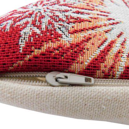 Fermoar fete de perna decorative fulgi de nea, rosie