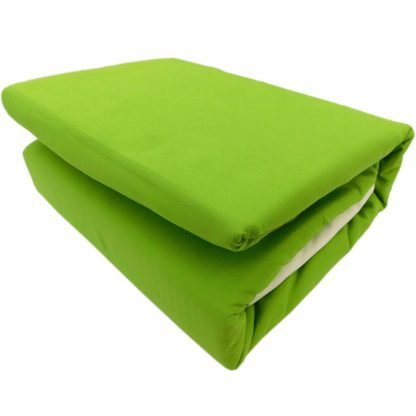 Lenjerii de pat 6 piese verde crud crem luminos