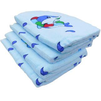 Prosoape de corp, baie, albastre, delfini