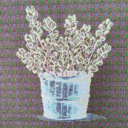 Fete de perne decorative lavanda model inversat