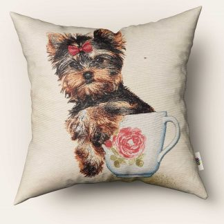 Fete de perne decorative Shih Tzu teacup