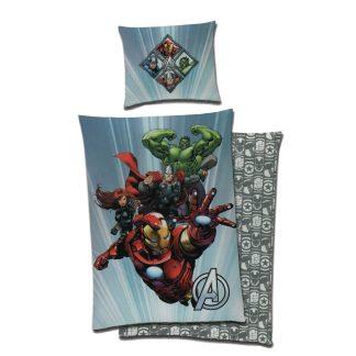 Lenjerie de pat o persoana reversibila, Avengers Marvel
