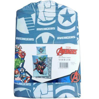 Lenjerie de pat o persoana Avengers Marvel