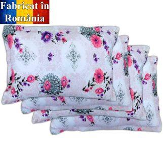 Set 4 fete de perna motiv floral 2 70 cm x 50 cm