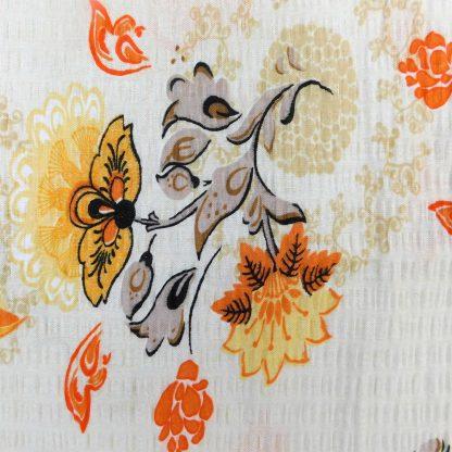 Fata de perna motiv floral 3 70 cm x 50 cm