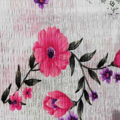 Fata de perna motiv floral 70 cm x 50 cm