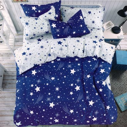 Lenjerie de pat albastra