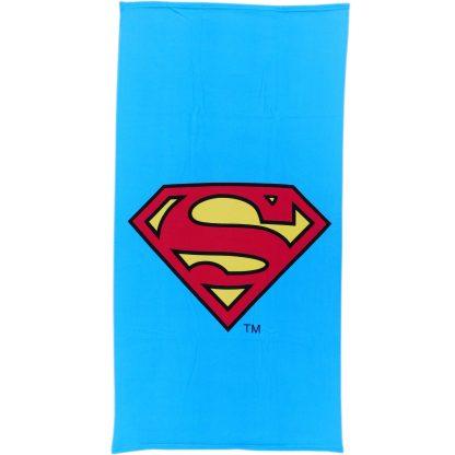 Prosop de plajă pentru copii Super Man