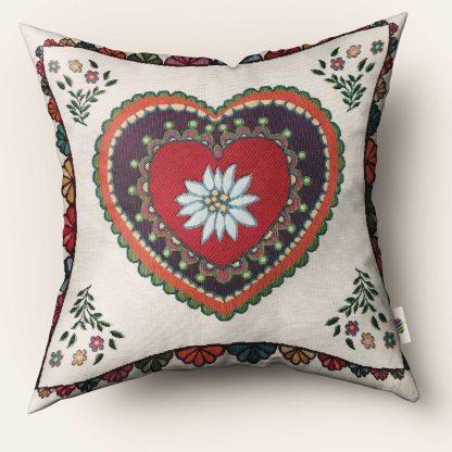 Fete de perna decorative inima flori retro