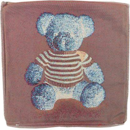 Față de pernă decorativă ursuleț de pluș