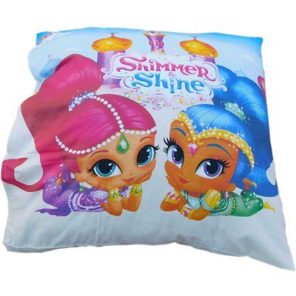 Lenjerie de pat pentru copii Shimmer and Shine, perna