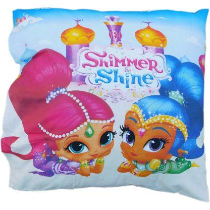 Lenjerie de pat pentru copii Shimmer and Shine, perna 70 cm x 70