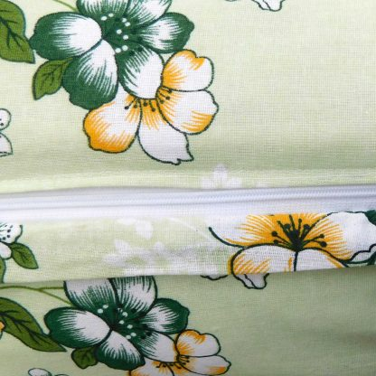 Fata de perna 70 cm x 50 cm, motiv floral 6 5