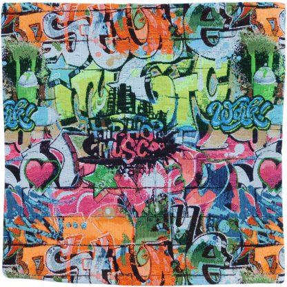 Fata de perna decorativa graffiti