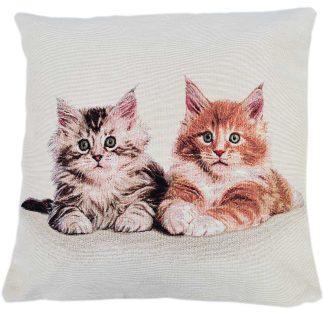 Fete de perne decorative doua pisicute