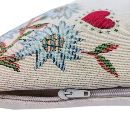 Fete de perne decorative inimioara inflorita, retro