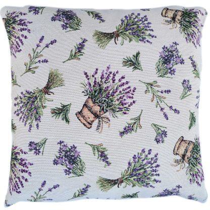 Fete de perne decorative cu buchete de lavanda