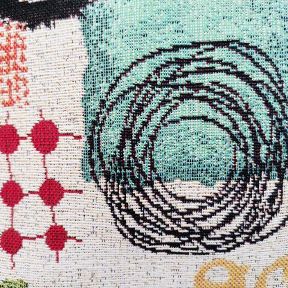 Fete de perne decorative motiv geometric