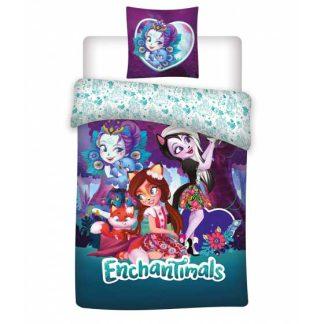 Lenjerie de pat pentru copii, Enchantimals