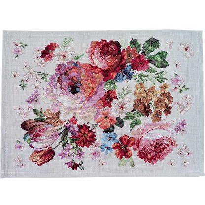 Fata de masa napron Goblen 35 cm x 45 cm, flori Jacquard