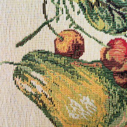 Fata de masa napron Goblen 35 cm x 45 cm, fructe Jacquard