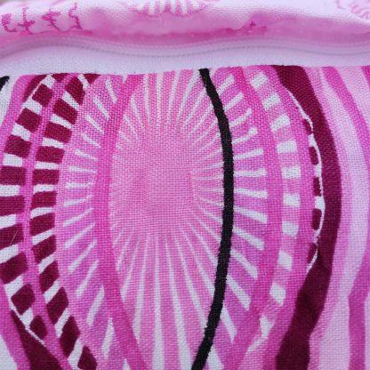 Fete de perne din bumbac creponat, liliac 70 cm x 50 cm