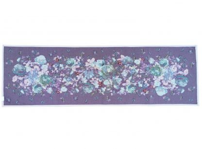 Fete de masa traverse Goblen 45 cm x 140 cm, bujori, flori