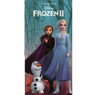 Prosoape de baie Frozen 2, 70cm X 140cm, Elsa Ana si Olaf