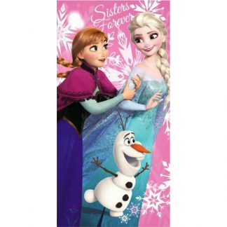 Prosoape de baie Frozen 2, din bumbac, Sisters Forever