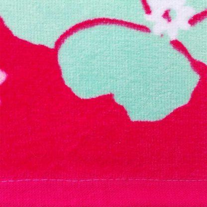 Prosop de baie pisicuta Marie, little heartbreaker, rosu roz, fucsia