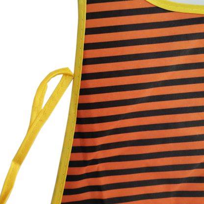 Sorturi de bucatarie impermeabile, portocaliu, negru