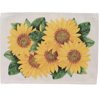 Fata de masa napron Goblen 35 cm x 45 cm, floarea soarelui, Jacq