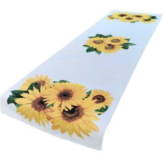 Fete de masa traverse Goblen 45 cm x 140 cm, floarea soarelui