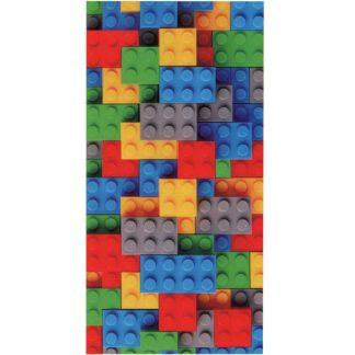 Prosop de baie Lego, bumbac 70 cm x 140 cm